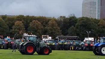 boerenprotest op malieveld den haag